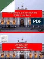 Garantías Constitucionales y Reforma de la Constitución
