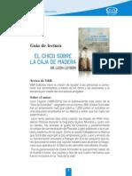 Guía de Lectura El Chico... Final