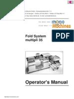 Mbm 352s Auto Air Suction Paper Folder Manual1