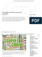 How Analytics Can Enhance Supply Chain Performance _ Blog – BRIDGEi2i Analytics SolutionsBlog - BRIDGEi2i Analytics Solutions