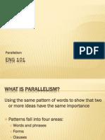 Eng101 Parallelism MisplacedAndDanglingModifiers