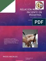 Relación Médico Paciente en Pediatría