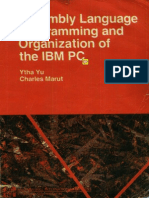 Ytha Yu, Charles Marut-Assembly Language Programming Organization of the IBM PC (1992)