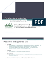 Cellular Manufacturing by Gemba Academy