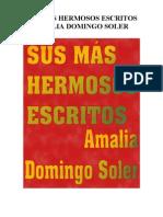 Hermosos Escritos. Amalia Domingo Soler