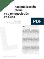 Santeria Transnacionalizacion y Renegociacion en Cuba