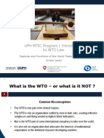002 Features and Functions of the WTO (1)