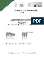 Laboratorio ILaboratorio Investigacion de Operacionesnvestigacion de Operaciones