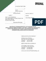 2015.11.16 DraftKings Memorandum of Law ISO TRO