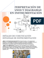 Interpretación de Diagramas de Instrumentación