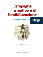 Campagne Informative e di Sensibilizzazione
