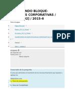 Quiz 1 Finanzas Corporativas
