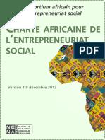 Charte Africaine de l'Entrepreneuriat Social