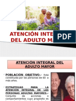atencion Del Adulto Mayor