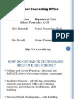 Freshman Information PowerPoint 2015 2016