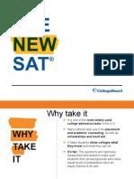 Junior Redesigned SAT Presentation