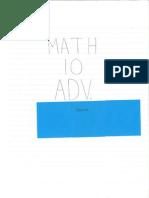 math 10 advanced portfolio exemplar 1