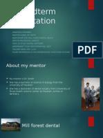 ism presentation outline assignment 3
