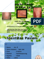 Urtikaria Akut. Indri 2009