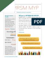 PAMPLET SPMRSM MYP