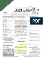 Diário oficial da união publicou a prorrogação do CAR (Cadastro Ambiental Rural)