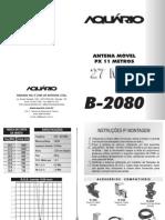 Manual B 2080