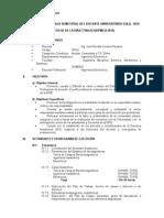 Plan Semestral 2015