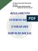 Reglamento Servicio Social
