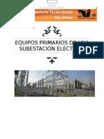 Equipos Primarios de una Subestación Eléctrica