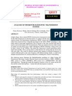 Analysis of Thyristor Based Hvdc Transmission System