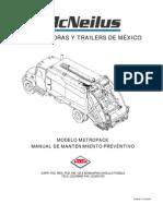 Manual de Mantenimiento Metropak