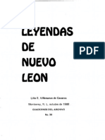 Cuaderno 30. Leyendas de Nuevo León