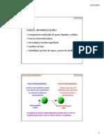 Fzas intermoleculares