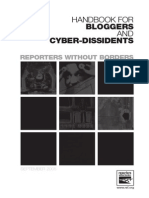 Handbook for Bloggers and Cyberdissidents