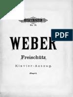 Weber - Der Freischutz PetersVS