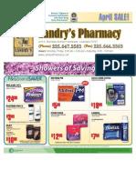 Landry's Pharmacy - April On Sale Flyer