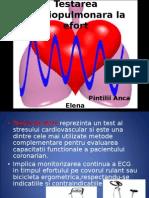 Testarea Cardiopulmonara La Efort