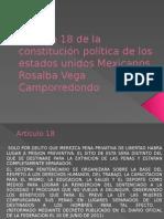 Articulo 18 de La Constitución Política de Los (1)
