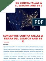 Conceptos Contra Fallas a Tierra Del Estator Ansi