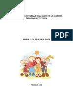 Talleres Para Escuela de Familias en La Cultura Para La Convivencia