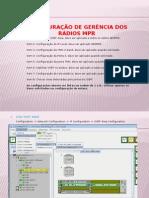 Configuração de gerência dos rádios MPR - In-band.ppsx