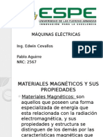 Materiales magnéticos y sus propiedades