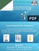 Capacidad de Disolución Del Agua y de Otros