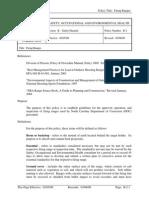 B-2 Firing Range Policy
