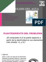 Electrolisis Del Agua
