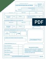 Formulario 8011-1 Lactancia