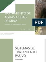 Tratamiento de Aguas Acidas de Mina