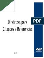 Diretrizes Citações e Referências
