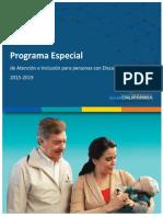 Programa Especial 2015 Dif