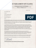 Endorsement Letter - Honorable Menhya